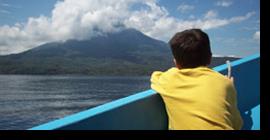 Por el lago Atitlán