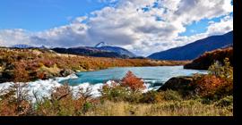 Festival de colores en Aysén