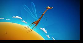 LaGiraffe en la nube