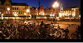 Brujas, ciudad bicicletera