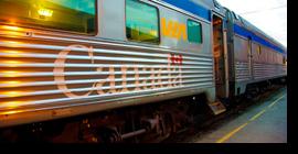 Cruzando Canadá en ferrocarril